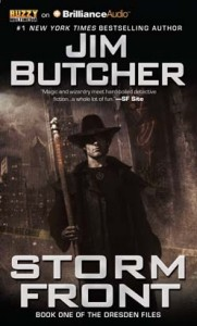 Storm Front by Jim Butcher  Book 1 of The Dresden Files